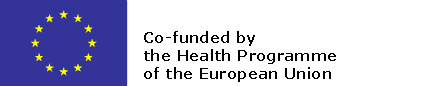 EU flag and co-funded by health programme